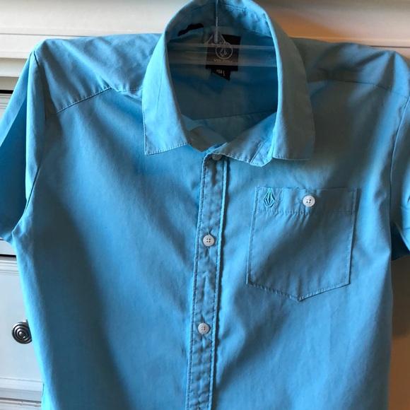 Volcom Other - Boys Volcom button up shirt szL